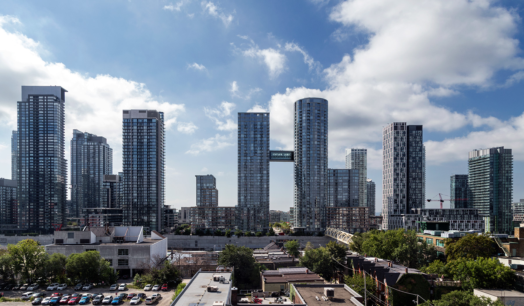 20160819. Toronto's CityPlace skyline.