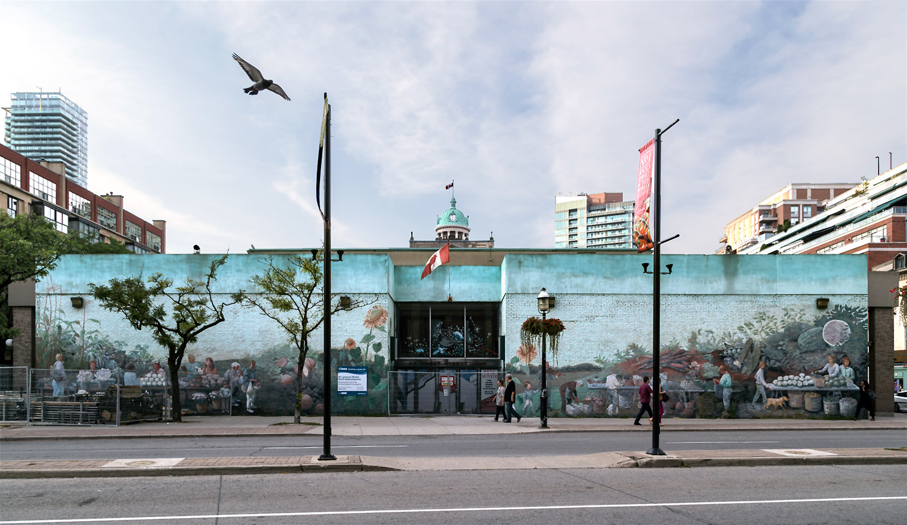 20160906. Imminent demolition of the St. Lawrence Market North B