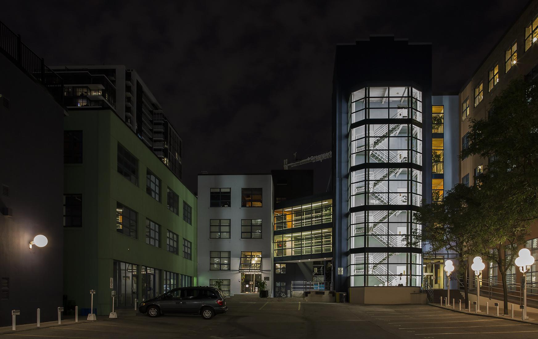 20160921. The unique Ontario Design Centre three building comple