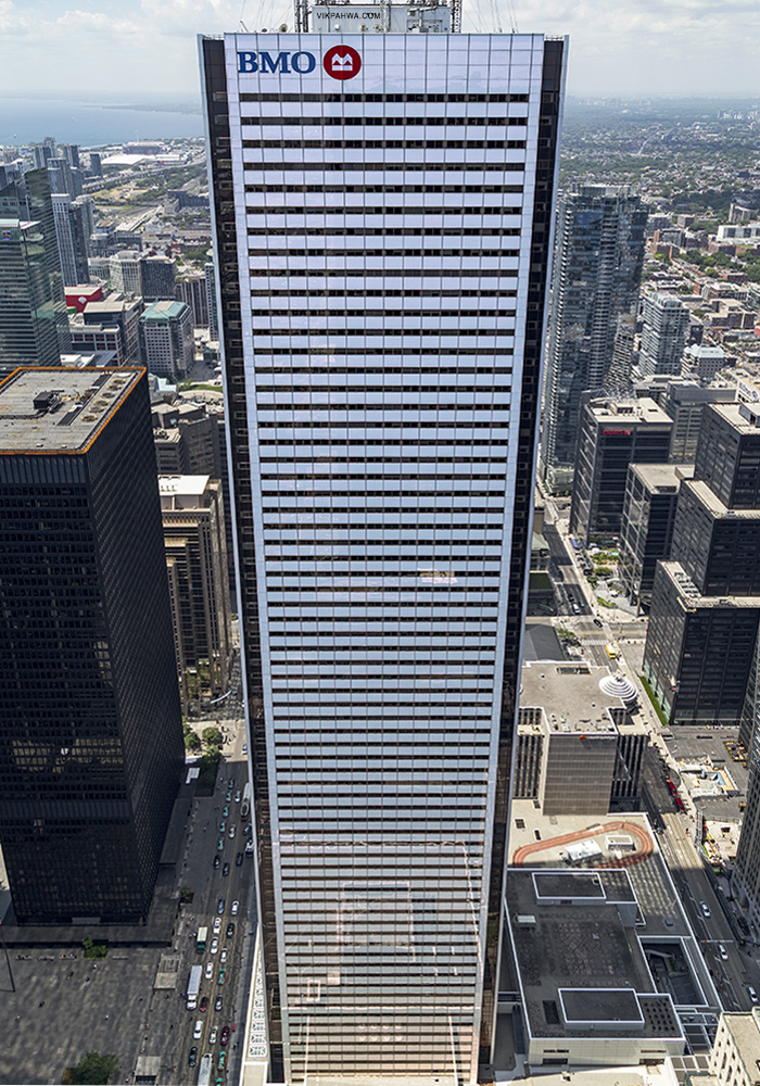 20161109. A full-height view of the First Canadian Place tower.