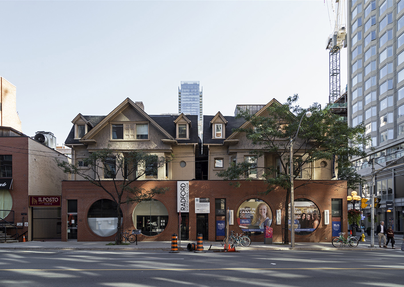 20170320. 1880s Victorian houses modeled into Yorkville's York S