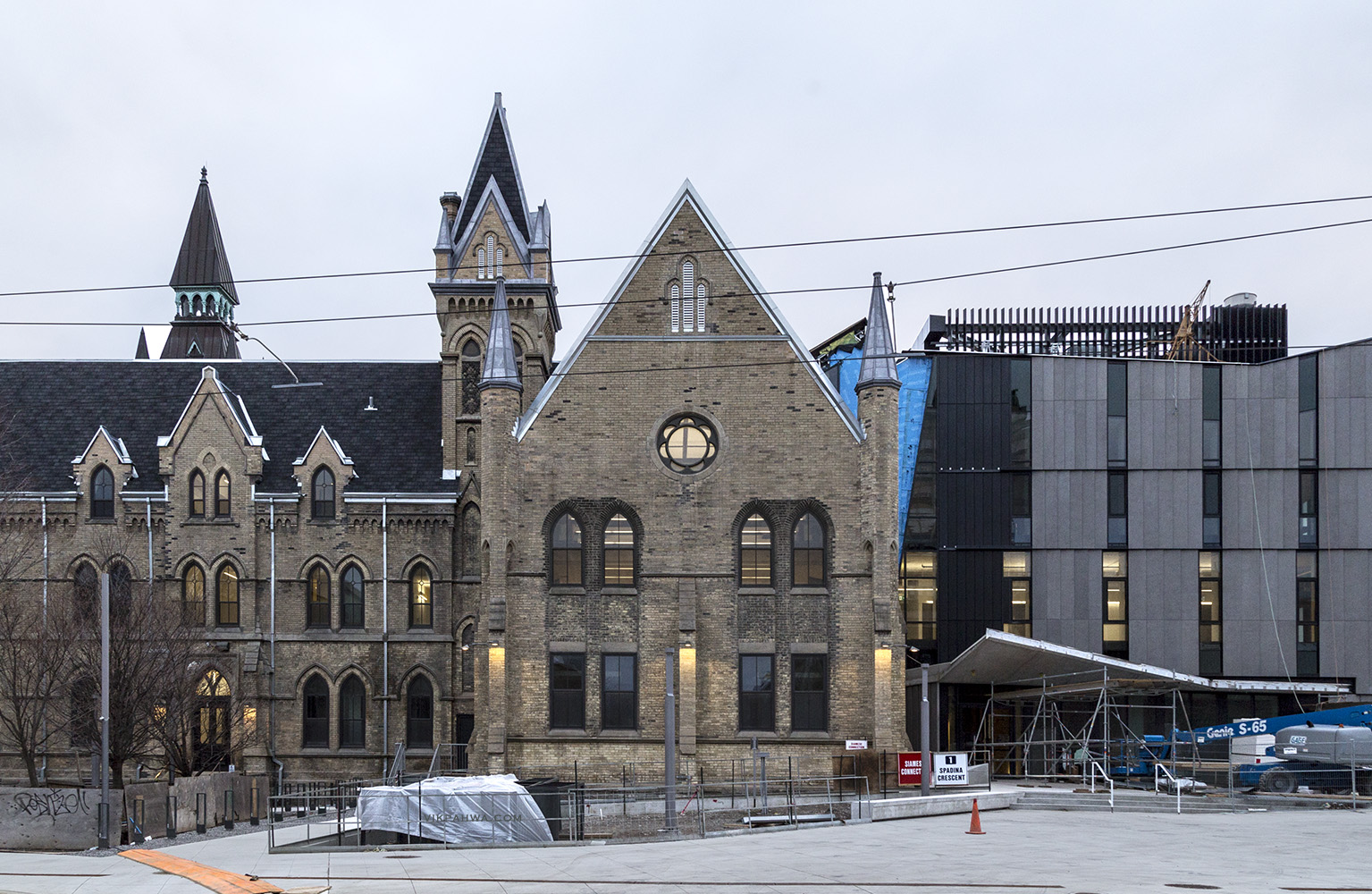 20170328. One Spadina is just about ready for Faculty and Staff
