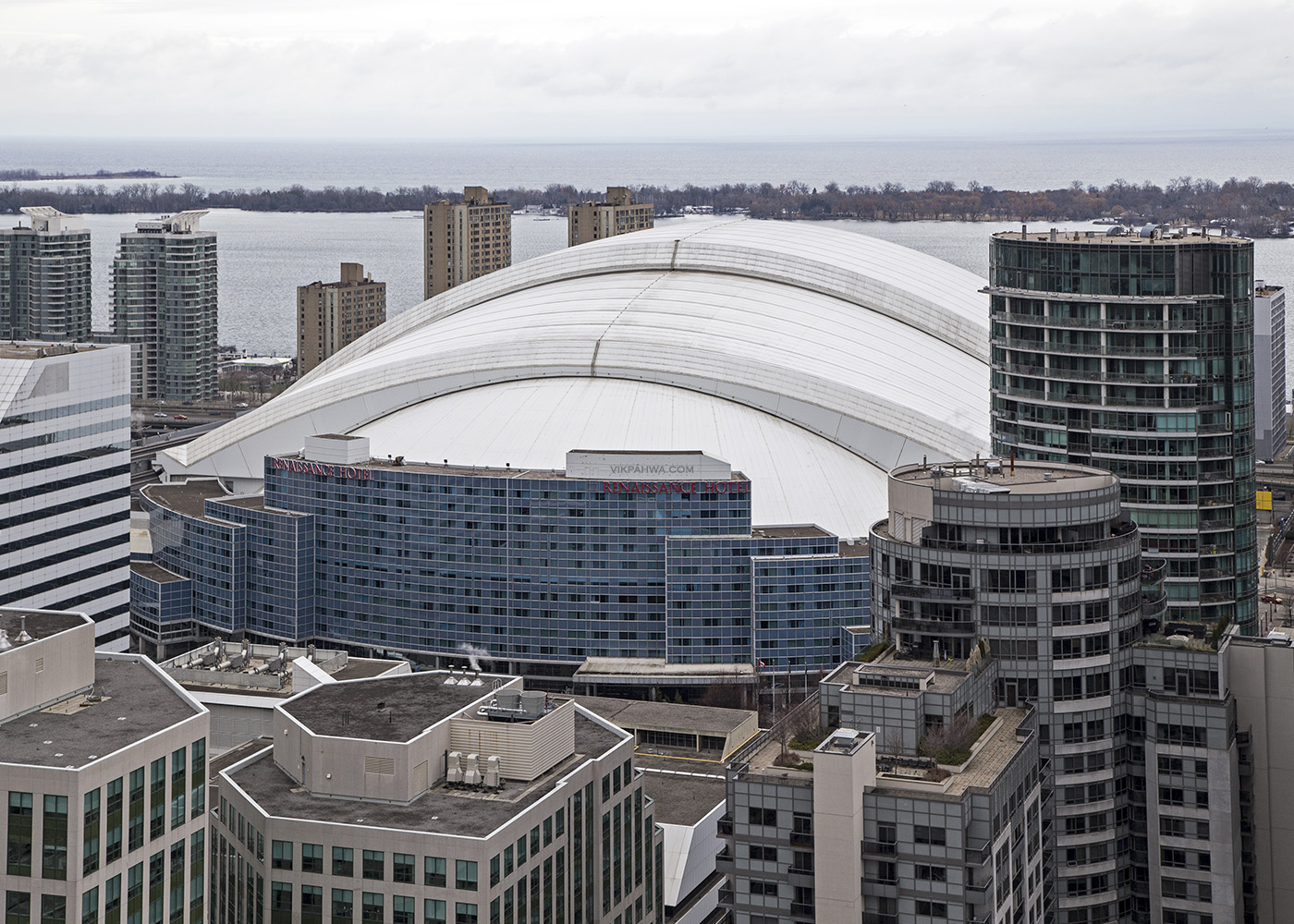 20170330. A bird's eye view of Skydome, I mean Rogers Centre, an