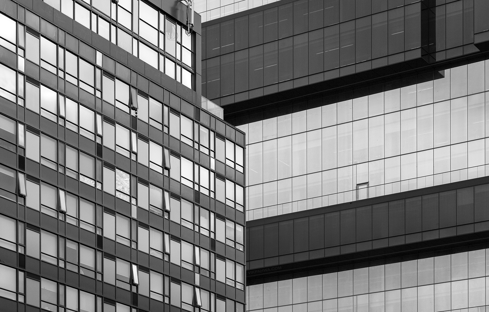 20170331. A monochrome match: 501 Adelaide Street W versus the G