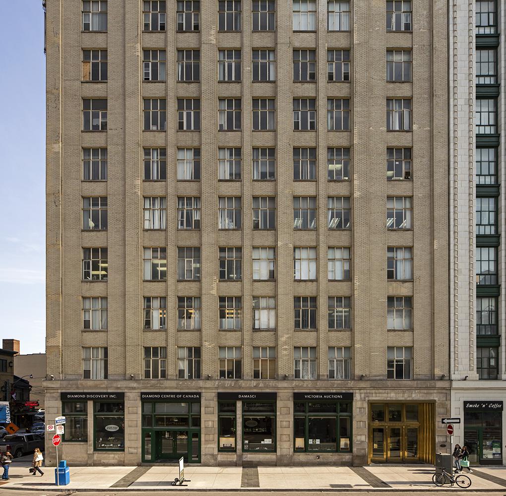 20170416. Benjamin Brown's Hermant Building east tower after res